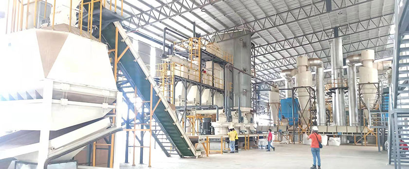 Malaysia Wood Pellet Production Line