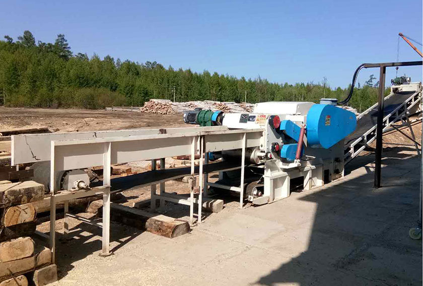 Russia Wood Chipper