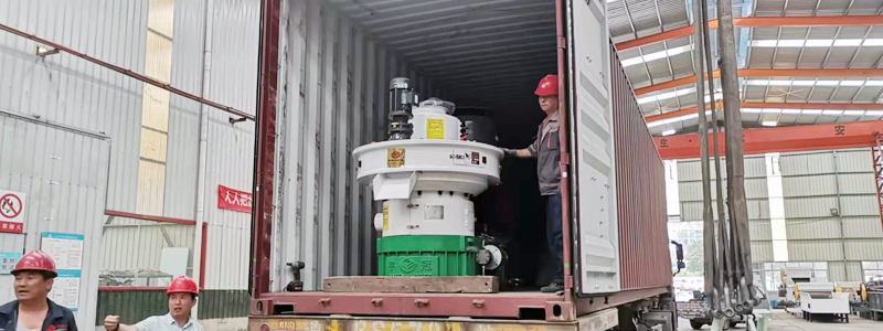 3 sets of 880 wood wood pellet machine shipped to Malaysia on July 6, 2021
