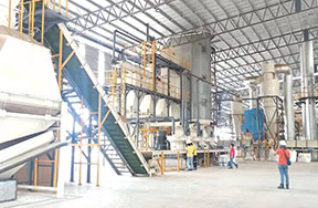 Malaysia12t/h wood pellet production line