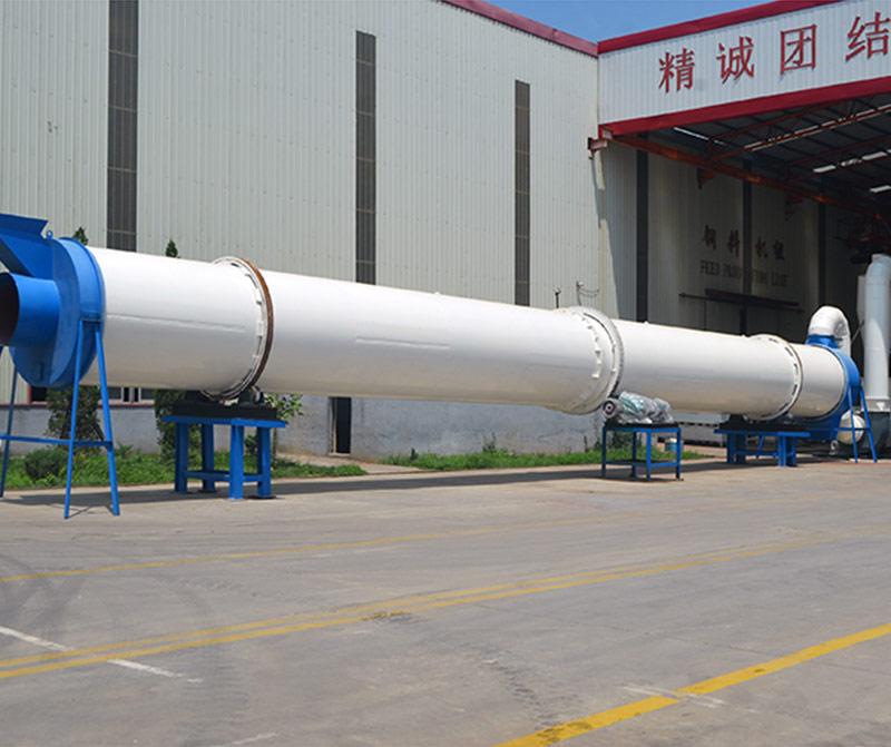 Biomass Three Cylinder Dryer