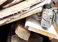 Waste wood board