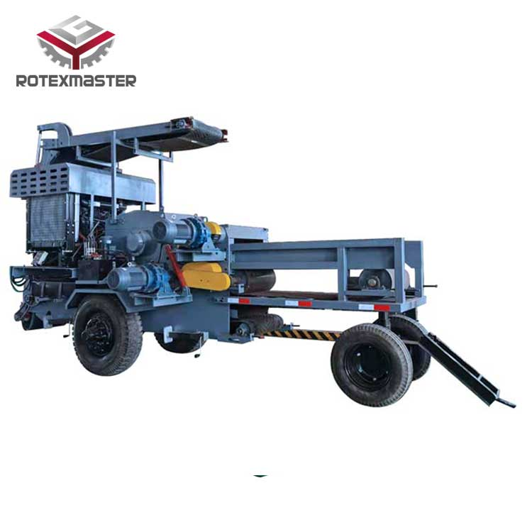 Mobile Wood Chipper